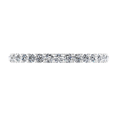 Diamond Wedding Band Lauren 0.29 Cts 14K White Gold