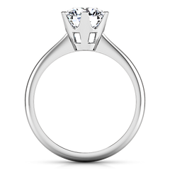 Solitaire Engagement Ring Tresa  14K White Gold