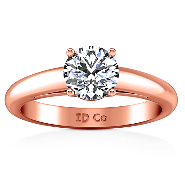Solitaire Engagement Ring Avant 14K Rose Gold