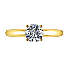 Solitaire Engagement Ring Avant 14K Yellow Gold