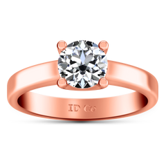 Solitaire Engagement Ring Amira 14K Rose Gold