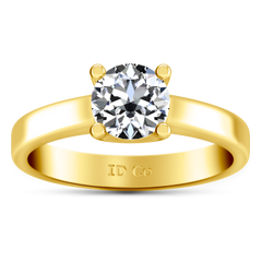 Solitaire Engagement Ring Amira 14K Yellow Gold