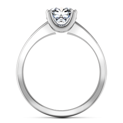 Solitaire Engagement Ring Amira 14K White Gold
