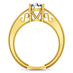 Solitaire Engagement Ring Kensington 14K Yellow Gold