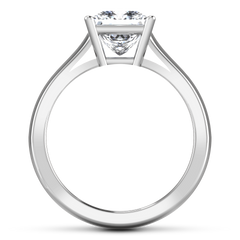 Solitaire Princess Cut Engagement Ring Angie 14K White Gold