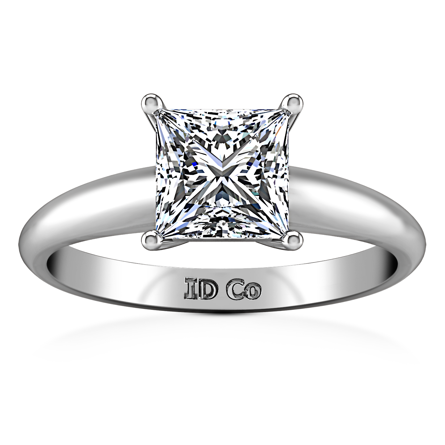 shank white with solitaire prong in rings rounded engagement round gold ring diamond cushion cut