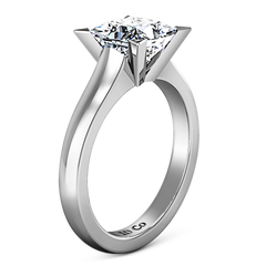 Solitaire Engagement Ring Jenny 14K White Gold