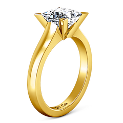 Solitaire Engagement Ring Jenny 14K Yellow Gold