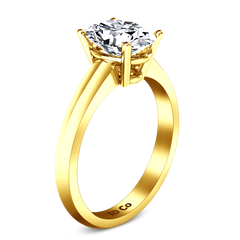 Solitaire Engagement Ring Daniela 14K Yellow Gold