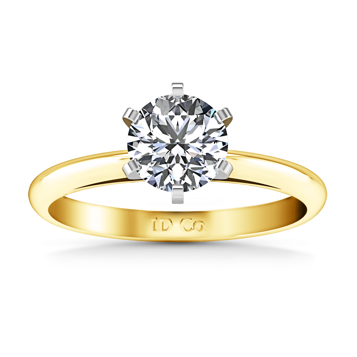 edge in diamond diamonds band cut solitaire rings knife yellow product natalie gold ring bands engagement cushion