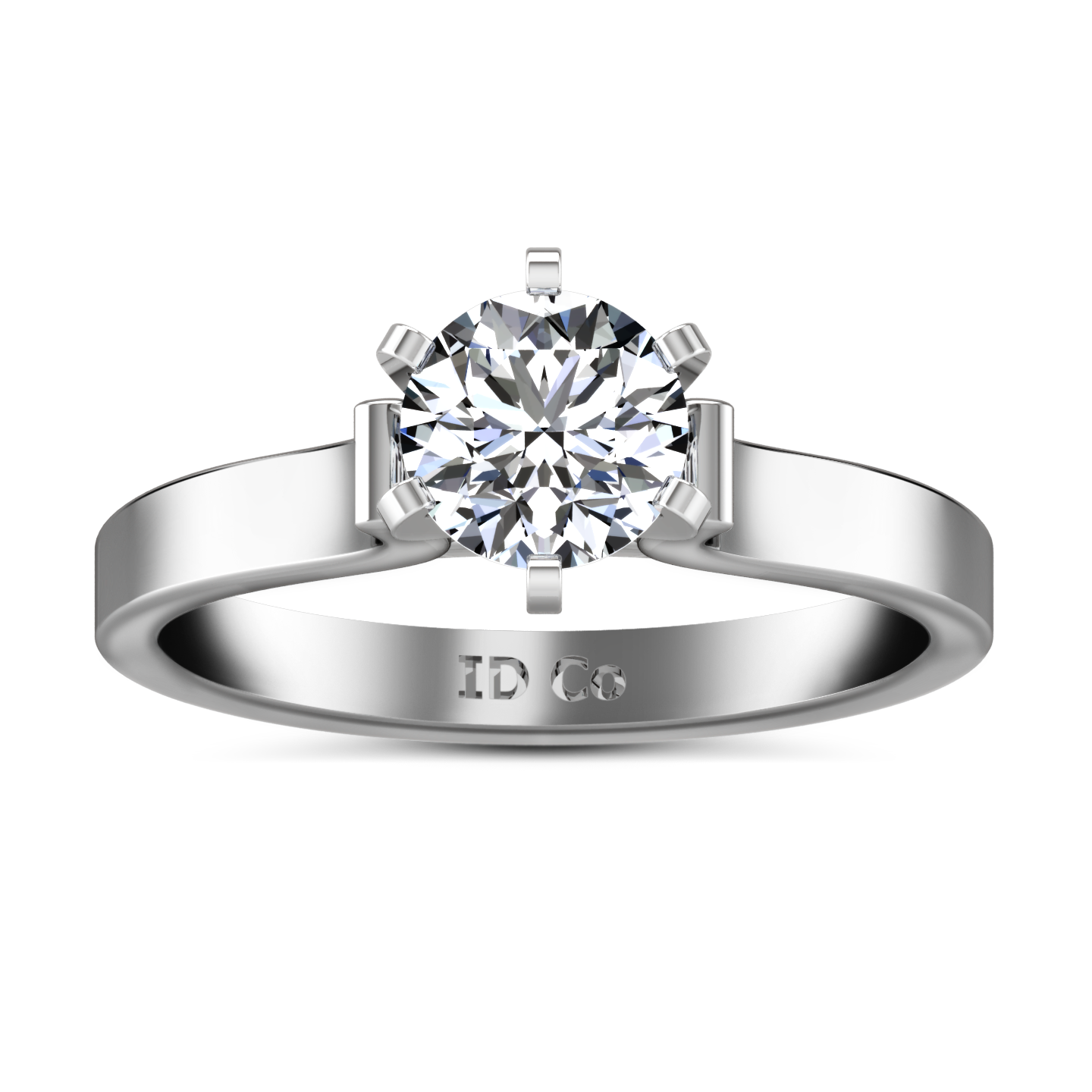 rings engagement diamond diamondland ring setting solitaire jewelry carat