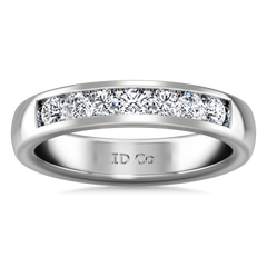 Diamond Wedding Band Hudson  0.35 Cts 14K White Gold
