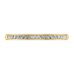 Diamond Wedding Band Devon 0.51 Cts 14K Yellow Gold