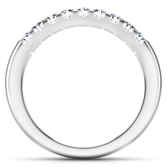 Diamond Wedding Band Candice 0.21 Cts 14K White Gold
