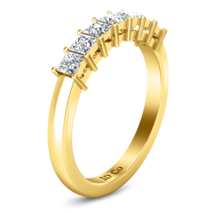 Diamond Wedding Band Janelle 0.49 Cts 14K Yellow Gold