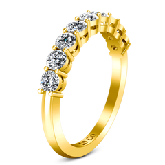 Diamond Wedding Band Verona  0.27 Cts 14K Yellow Gold