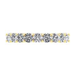 Diamond Wedding Band Preston  0.27 Cts 14K Yellow Gold