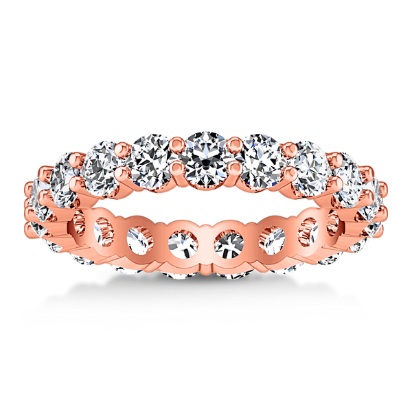 Eternity Ring Vogue  1.68 Cts 14K Rose Gold