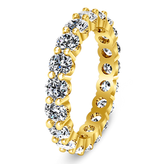 Eternity Ring Vogue  1.68 Cts 14K Yellow Gold