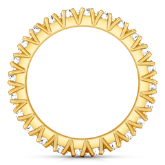 Eternity Ring Luce  1.68 Cts 14K Yellow Gold
