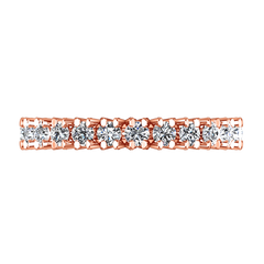 Eternity Ring Luce  1.68 Cts 14K Rose Gold