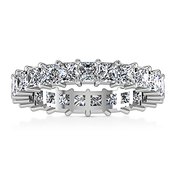 Eternity Ring Vida  1.75 Cts 14K White Gold