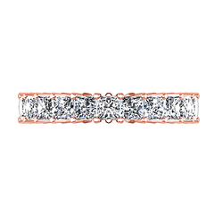 Eternity Ring Vida  1.75 Cts 14K Rose Gold