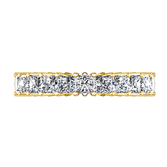 Eternity Ring Vida  1.75 Cts 14K Yellow Gold
