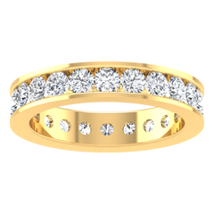 Eternity Ring Mellany  1.68 Cts 14K Yellow Gold