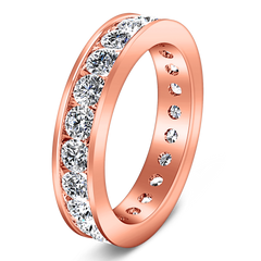 Eternity Ring Mellany  1.68 Cts 14K Rose Gold