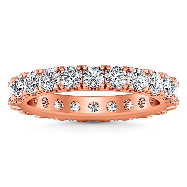 Eternity Ring Natasha  1.6 Cts 14K Rose Gold