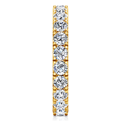 Eternity Ring Natasha  1.6 Cts 14K Yellow Gold