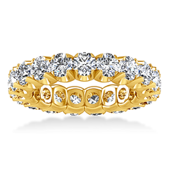 Eternity Ring Amyarullis 1.6 Cts 14K Yellow Gold