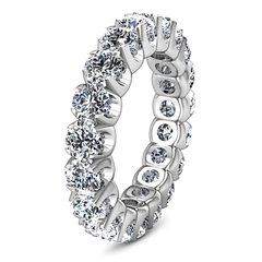 Eternity Ring Amyarullis 1.6 Cts 14K White Gold