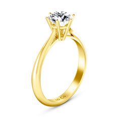 Solitaire Engagement Ring Alexa  14K Yellow Gold