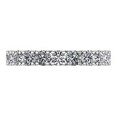 Diamond Wedding Band Kimberly 0.39 Cts 14K White Gold