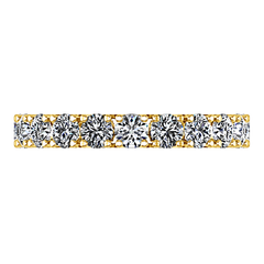 Diamond Wedding Band Kimberly 0.39 Cts 14K Yellow Gold