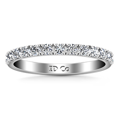 Diamond Wedding Band Larissa 0.51 Cts 14K White Gold