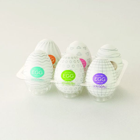 Tenga Egg - Variety 6 Pack #1 - Erotic Wellness