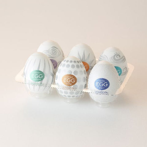 Tenga Egg - Variety 6 Pack #2 - Erotic Wellness