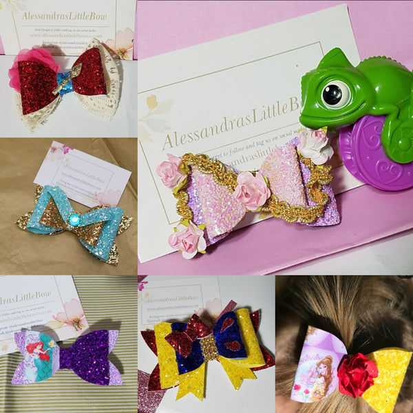 Disney Inspired Bows