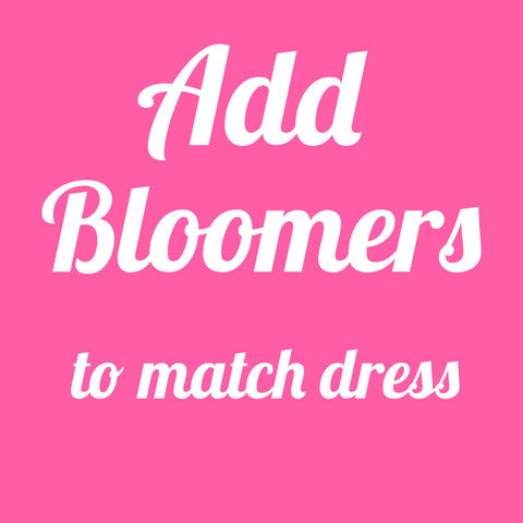 Add Bloomers - AlessandrasLittleBow