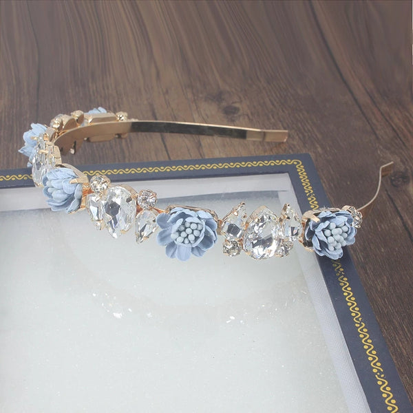 Crystal Rose headband ready to ship