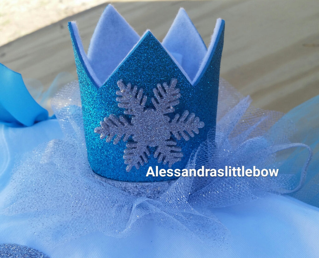 Small Frozen crown - AlessandrasLittleBow