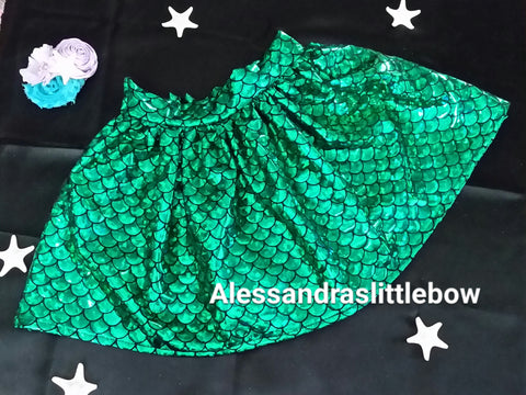Mermaid skirt - AlessandrasLittleBow