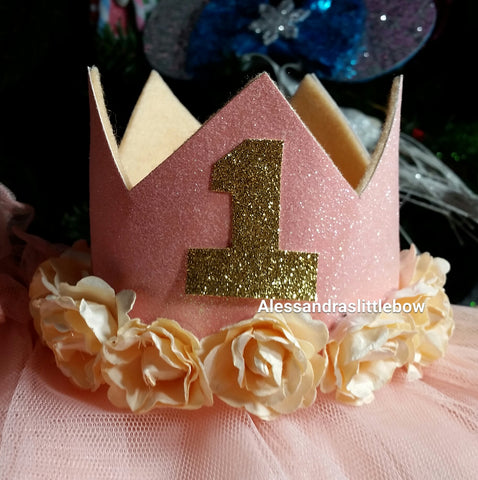 Gracie Glitter crown