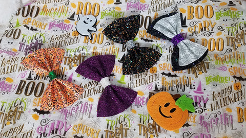 Friday Deal - Spooktacular Bow Set - AlessandrasLittleBow