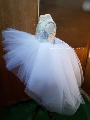 Princess Natalie High Low Couture Dress