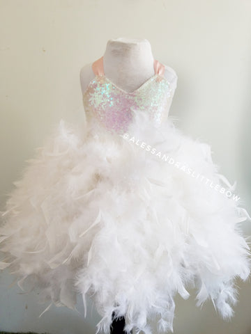 Swan Princess Couture Dress