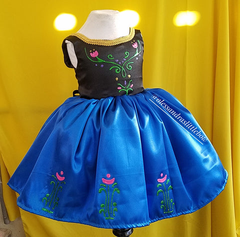 Princess Anna Couture Dress